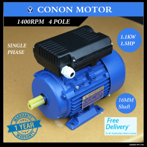 Conon Motor Compressor motor single phase 240v dual caps
