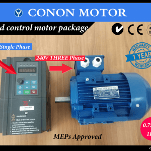 Single Phase varaible frequency drive with Electric motor speed control package
